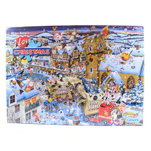 Gibsons I Love Christmas 1000 Piece Jigsaw Puzzle