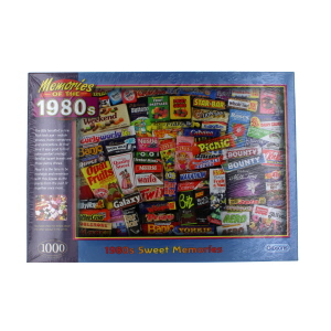 Gibsons 1980s Sweet Memories Jigsaw Puzzle 1000 Piece
