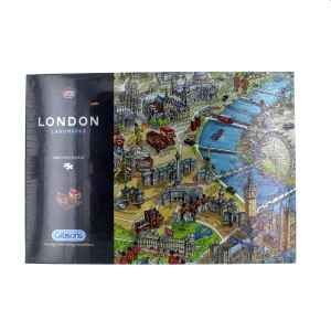 Gibsons London Landmarks Jigsaw Puzzle 1000 Piece