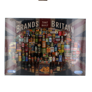 Gibsons The Brands That Built Britain Jigsaw Puzzle 1000 Piece