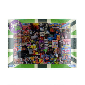 Gibsons Spirit Of The 80s Jigsaw Puzzle 1000 Piece