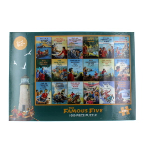 Gibsons The Famous Five Jigsaw Puzzle 1000 Piece
