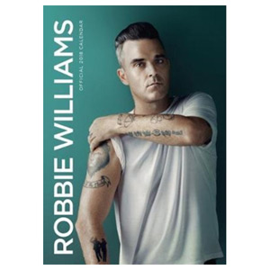 Robbie Williams Official 2018 Calendar - A3 Poster Format