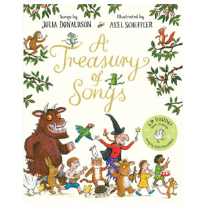 A Treasury of Songs Book and CD Pack