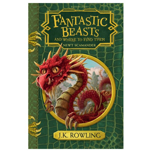 Fantastic Beasts and Where to Find Them - Hogwarts Library Book