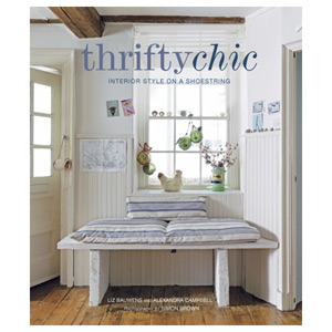 Thrifty Chic Interior Style on a Shoestring