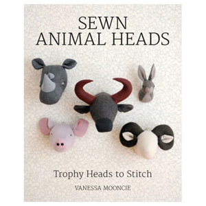 Sewn Animal Heads - 15 Trophy Heads to Stitch