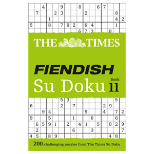 The Times Fiendish Su Doku Book 11 - 200 Challenging Su Doku Puzzles