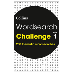 Wordsearch Challenge book 1 200 Puzzles