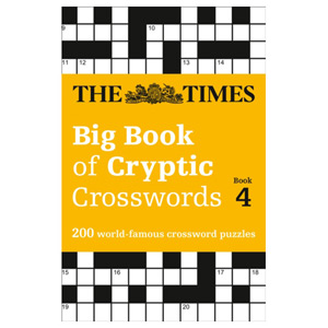 The Times Big Book of Cryptic Crosswords Book 4 - 200 Crossword Puzzles