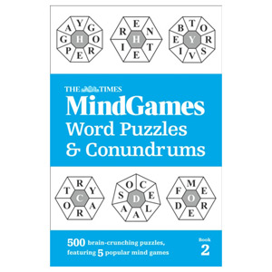 The Times Mind Games Word Puzzles and Conundrums Book 2 - 500 Brain Puzzles