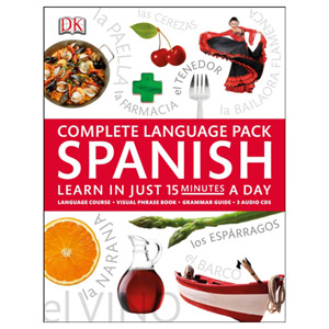 Complete Language Pack Spanish Learn in Just 15 Minutes a Day
