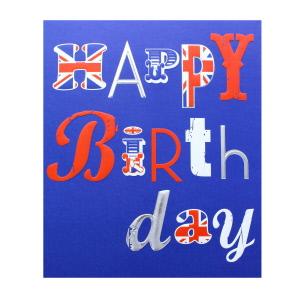 Birthday male greetings cards british food happy birthday union jack m4hsunfo