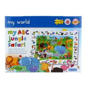 Gibsons My ABC Jungle Safari Childrens Puzzle