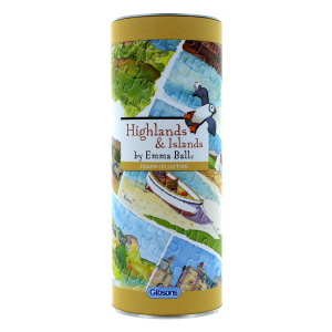 Gibsons Highland and Islands 250 Piece Jigsaw Gift Tube