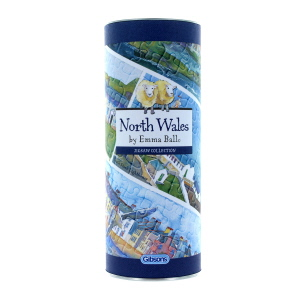 Gibsons North Wales 250 Piece Jigsaw Gift Tube