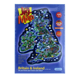 Gibsons 150 Piece Jig-Map UK and Ireland