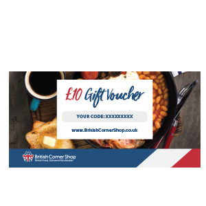 £10 British Corner Shop Gift Voucher