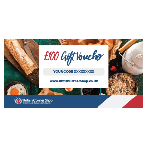 £100 British Corner Shop Gift Voucher