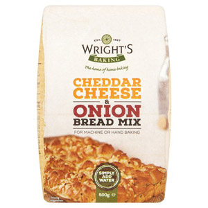 Wrights Cheese and Onion Bread Mix