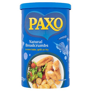 Paxo Natural Bread Crumbs