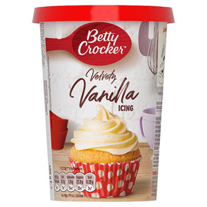 Betty Crocker Vanilla Flavour Frosting