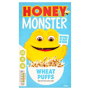 Honey Monster Sugar Puffs