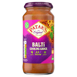 Pataks Medium Balti Sauce Jar