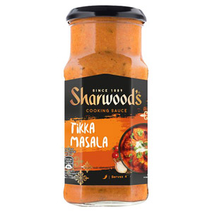 Sharwoods Tikka Masala Mild-Medium Sauce