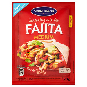 Santa Maria Medium Fajita Seasoning