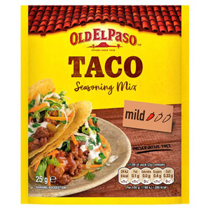 Old El Paso Garlic & Paprika Spice Mix for Tacos