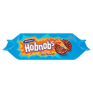 McVities Chocolate Hobnobs Rollwrap
