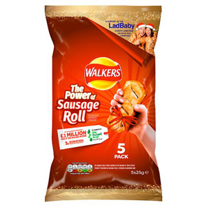 Walkers Sausage Roll Crisps 5pk