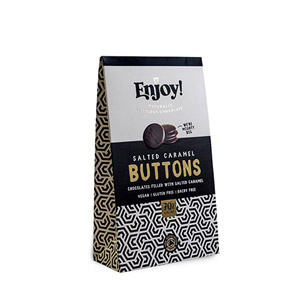 Enjoy Salted Caramel Filled Buttons