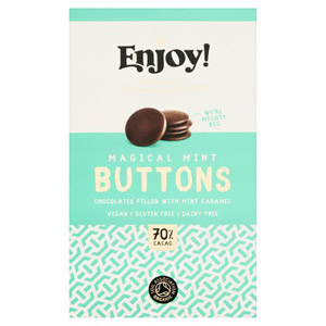Enjoy Mint Caramel Filled Buttons