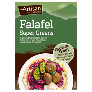 Artisan Grains Super Greens Gluten Free Falafel