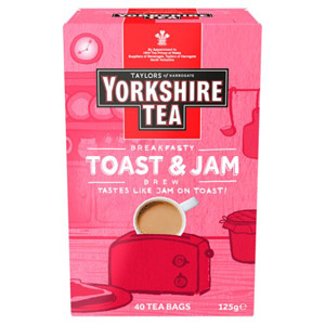 Yorkshire Tea Toast and Jam Brew 40 Pack