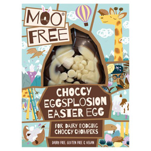 Moo Free Choccy Eggsplosion Easter Egg