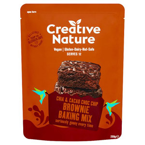 Creative Nature Chia and Cacao Brownie Mix