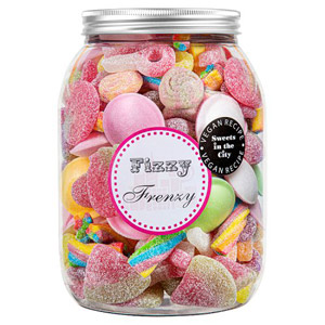 Sweets in the City Fizzy Frenzy Giant Jar of Joy