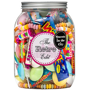 Sweets in the City Retro Classics Giant Jar of Joy