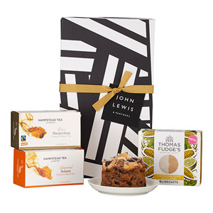 John Lewis & Partners Tea & Biscuits Hamper