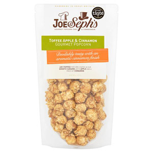 Joe and Seph's Toffee Apple and Cinnamon Popcorn Pouch