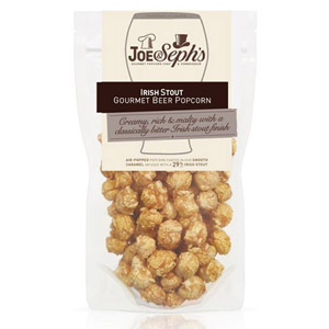 Joe and Seph's Irish Stout Popcorn Pouch