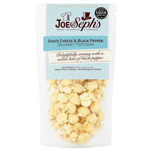 Joe and Seph's Goats Cheese & Black Pepper Popcorn Pouch