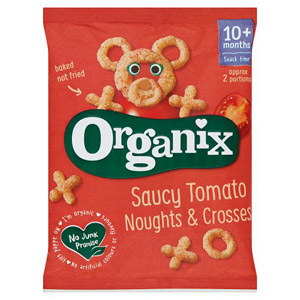 Organix 12 Month Goodies Noughts and Crosses