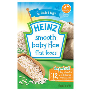 Heinz 4 Month Pure Baby Rice Packet
