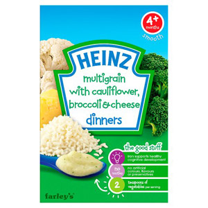 Heinz 4 Month Savoury Cauliflower Broccoli & Cheese Packet