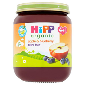 Hipp 4 Month Organic Apple & Blueberry Dessert