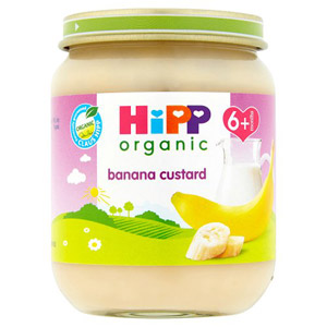 Hipp 4 Month Organic Banana Custard